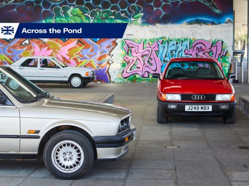 Executive decision: Audi 80 vs. BMW 3 Series vs. Mercedes 190E