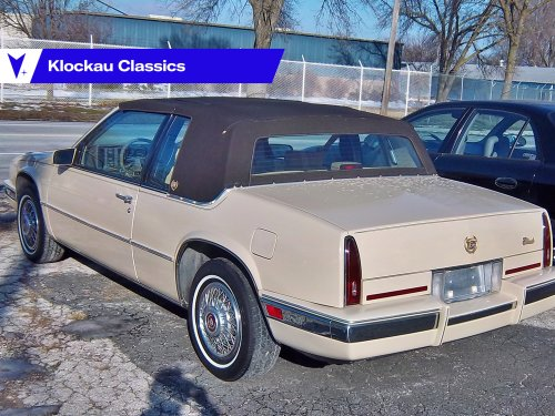 1986 Cadillac Eldorado: There was shrinkage!
