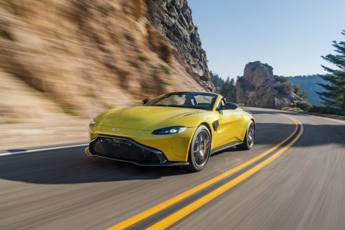 The 2021 Aston Martin Vantage Roadster has real substance beneath its style