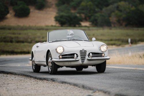 Your handy 1955–65 Alfa Romeo Giulietta Spider buyer's guide