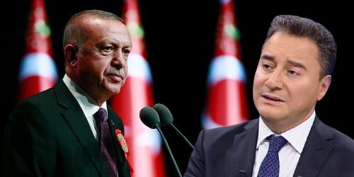 Ali Babacan'dan Erdoğan'a: 'Yola beraber çıktığınız arkadaşlarınızdan kaçı yanınızda?