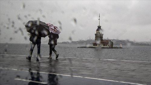 Meteoroloji: Yurdun yarısı yağmurlu