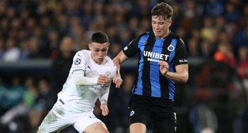 Manchester City Brugge'ü 5-1'le devirdi