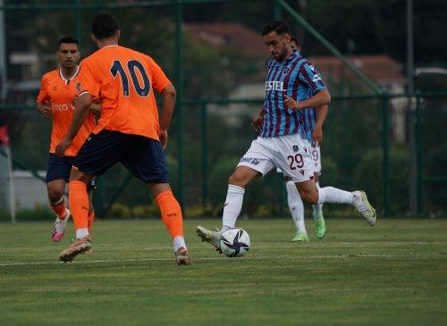 Trabzonspor-Başakşehir mücadelesinde gol sesi çıkmadı