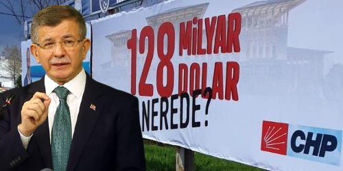 Gelecek Partisi Genel Başkanı Ahmet Davutoğlu'ndan 128 milyar dolar tepkisi