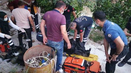 Adana'da, çalışma yaptıkları su kuyusuna düşen 3 arkadaş öldü