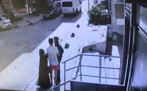 Küçükçekmece'de kadının imdat çığlığını duyan esnaf hırsızı böyle yakaladı