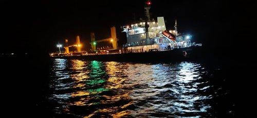 Çanakkale Boğazı açıklarında gemi kazası