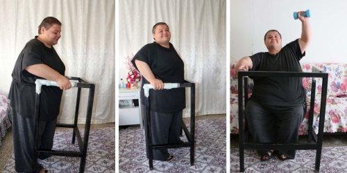 7 ayda 52 kilo verdi: 228'e indi
