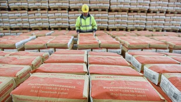 Bauboom stimmt Heidelberg Cement zuversichtlicher