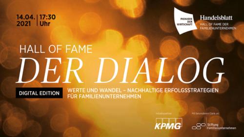 Handelsblatt Live: Jetzt live: Hall of Fame Dialog – Erfolgsstrategien für Familienunternehmen