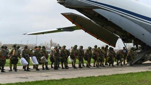 Ukraine-Konflikt: Russland ordnet Truppenabzug von ukrainischer Grenze an