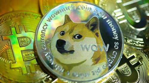 Dogecoin : Spaßwährung legt 8000 Prozent zu – Sorgen wegen Blase am Kryptomarkt