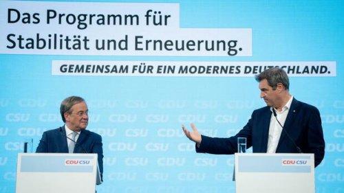 Blick ins Wahlprogramm: Mit diesen Versprechen will die Union bei den Wählern punkten