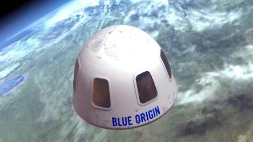 Raumfahrtflug mit Jeff Bezos für 28 Millionen Dollar versteigert