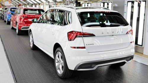 VW-Tochter Skoda muss Produktion wegen Chipmangels drosseln