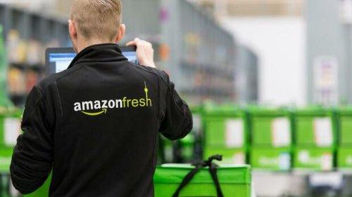 Amazon reagiert auf die neue Konkurrenz – und liefert Lebensmittel jetzt viel schneller