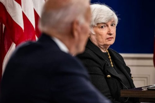 Yellen setzt Zahlungen aus und fordert langfristige Lösung