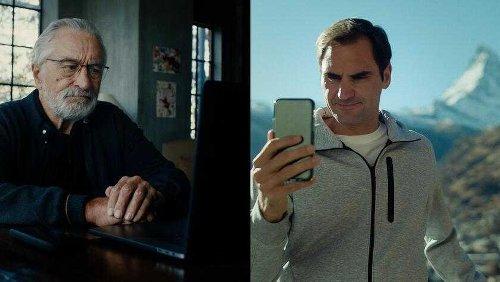 So werben Federer und De Niro für Ferien in der Schweiz