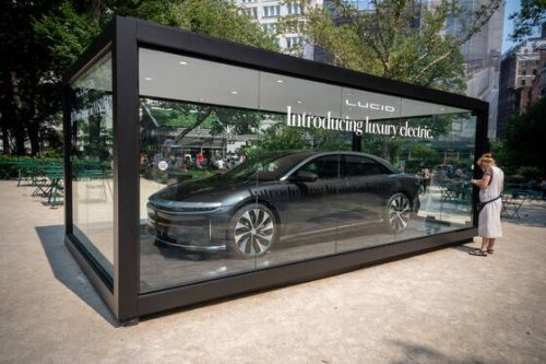 Tesla-Rivale Lucid Motors gründet Schweizer Firma