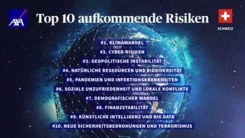 Risk Report: Axa Future Risk Report 2021: Schweiz gibt sich gelassen | HZ Insurance