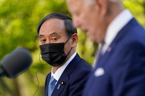 '도쿄올림픽 무책임' 질문하자 답하지 않고 넘긴 스가 총리