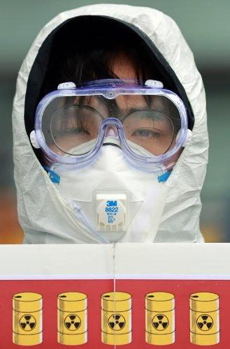 """""""日, 후쿠시마 오염수 방류 철회하라""""…시민단체 기자회견 줄이어"""