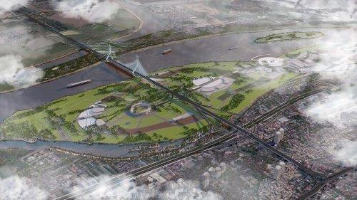 Cầu Tứ Liên ở đâu? Bản đồ Quy hoạch, thiết kế & tiến độ cầu Tứ Liên - Hà Nội Homeland