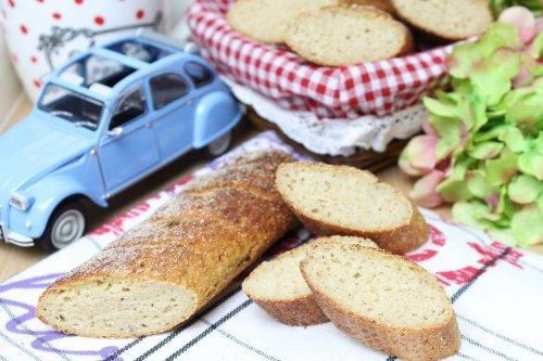 Französisches Low-Carb-Baguette