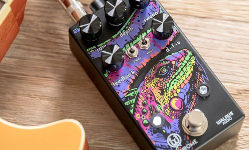 Walrus Audio's Polychrome is a flanger that can morph to any environment