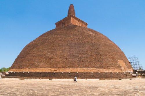 Anuradhapura, Sri Lanka: ruínas da antiga capital do país