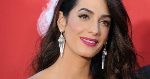 Amal Clooney: Dieses Produkt ist ihr Make-up-Trick für volle Lippen