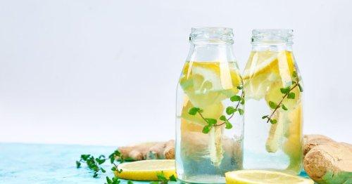 Diät-Drink: Wie die Kombination aus Ingwer, Zitrone und Apfelessig beim Abnehmen helfen soll