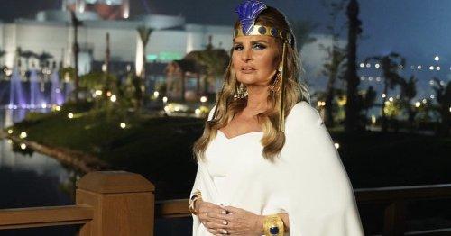 في الوقت الذي بهرتنا فيه مصر بالموكب الفرعوني أبهرتنا يسرا بإطلالتها الرائعة