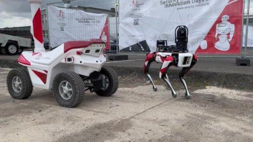 Mit künstlicher Intelligenz: Diese Sicherheitsroboter sollen bald Firmengelände schützen