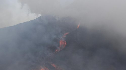 Lava, Hitze, Rauch: Vulkanausbruch in Guatemela