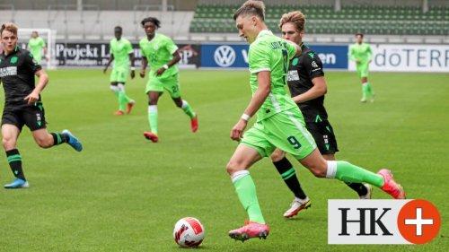 Junioren des VfL Wolfsburg müssen sich mit Remis' begnügen