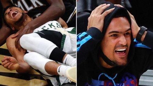 NBA: Antetokounmpo verletzt - Hawks gleichen gegen Bucks aus
