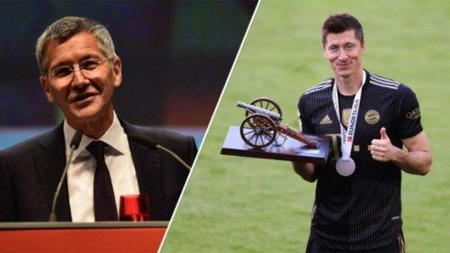 """Bayern-Präsident Hainer: Lewandowski bleibt """"definitiv"""""""