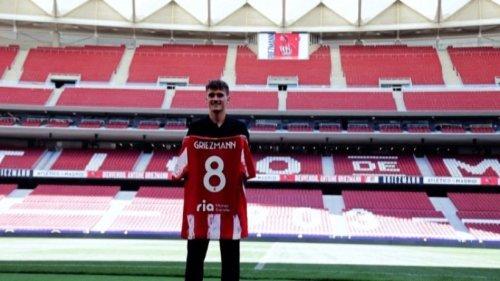 "Zurück bei Atlético: Griezmann wünscht sich ""magische Nächte"""
