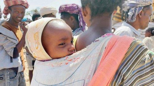 Zehntausenden Kindern in Äthiopien droht der Hungertod