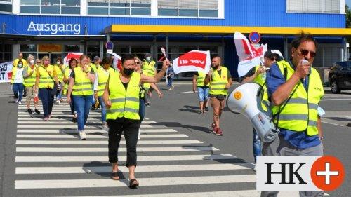 Ikea-Beschäftigte in Braunschweig streiken weiter