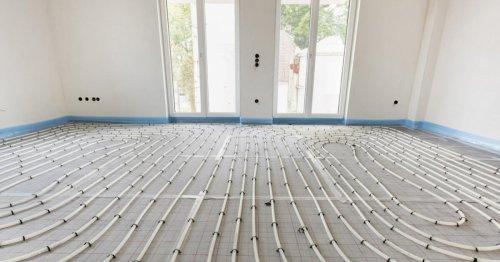 Heizestrich: Für die Fußbodenheizung unverzichtbar - DAS HAUS