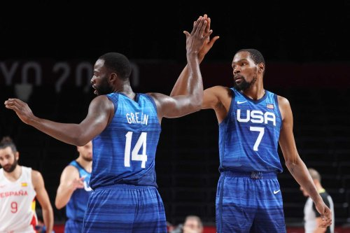 Team USA overwhelms Spain, now one win from playing for basketball gold