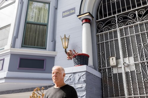 Meet Dr. Color, who's painted more than 17,000 SF buildings