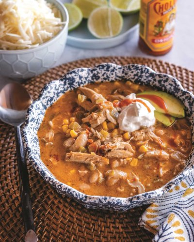 Ree Drummond shows her love for Tex-Mex with White Chicken Chili