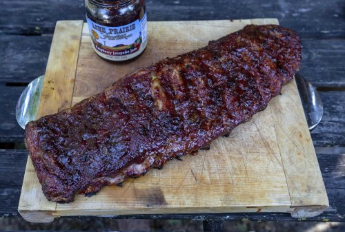 Recipe: Smoked Raspberry Pepper Pork Ribs