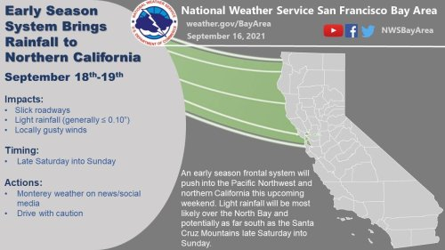 Bay Area may see a full September's worth of rain by this weekend. Here's what it means for drought, fires
