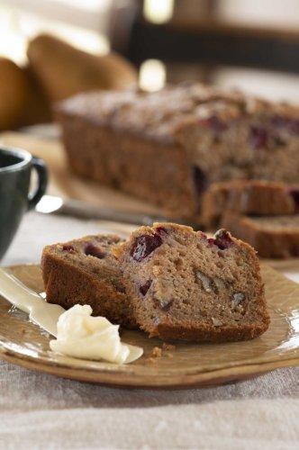 Trisha Yearwood's recipe for Pear Cranberry Walnut Quick Bread