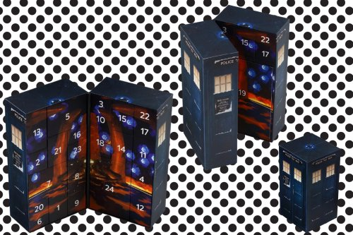 Doctor up the holidays with this Doctor Who advent calendar